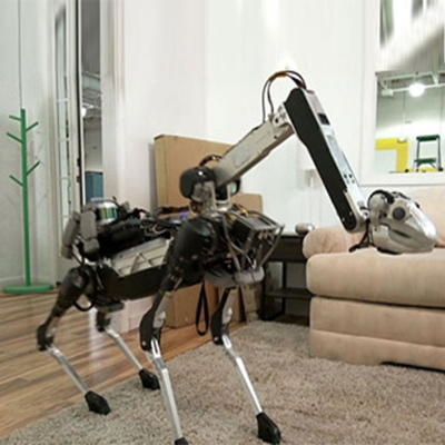 Four-legged robot scientific research and education platform pet \ life service class robot